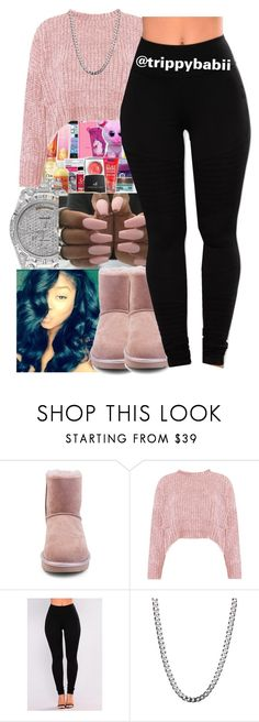 """""""You'll Always Love Me"""" by trippybabii on Polyvore featuring UGG and Boohoo"""