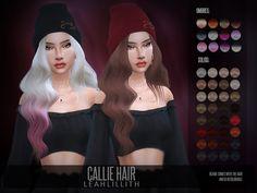 Sims 4 CC's - The Best: LeahLillith Callie Hair