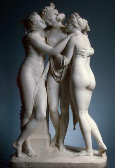 """The Three Graces"" by Antonio Canova (1813-1816)"