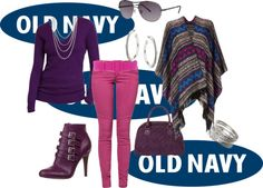 """Style That Sweater with Old Navy"" by tanherb on Polyvore"