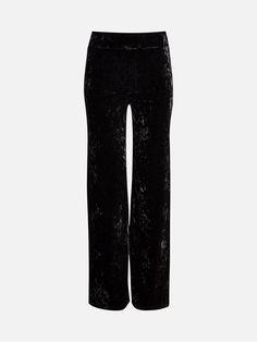 Sandro bukser fra BikBok, str M i svart, kr 199,-