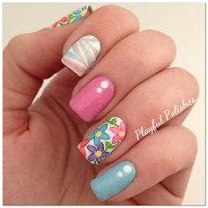 .pink nail