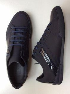 Sneaker Dior Homme Ref.Sneaker B18 Matt Calfskin 520 Dark Blue Réf.  DIO-SPO-H-96106 ab6f6a30036a
