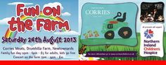 """Corries Farm """"Fun OnThe Farm Day"""" is BACK!!!!!!!!!!!!!! Its on This Sat – Full info HERE!!!!!!!!!!!!!!!! live on www.intouchrugby.com"""