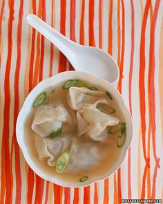 Love wonton soup...all time favorite Chinese soup from childhood