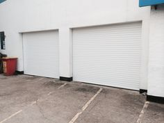 Satisfied client with our Electrically Operated Security Roller Garage Doors fitted to his mechanic workshop in Sutton. Roller Shutters, Window Shutters, Shutter Designs, Rolling Shutter, Mechanical Workshop, Shutter Doors, Garage Workshop, Skylight, Swimming Pools