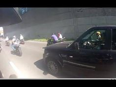 A dad out for a Sunday drive on his first wedding anniversary was beaten and slashed by a vicious mob of motorcyclists in upper Manhattan who dragged him from h