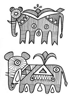 Ideas Painting Indian India Folk Art For 2019 Madhubani Art, Madhubani Painting, Phad Painting, Henna, Indian Arts And Crafts, Indian Folk Art, India Art, Embroidery Motifs, Elephant Art