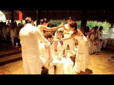Xcaret , Riviera Maya Wedding Video  chapel - 41 seconds in, spiral - 1min 47, ;a isla 2 mins in