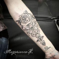Ornamental rose by Marjorianne