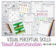 VISUAL PERCEPTION:Visual Discrimination activities, resources