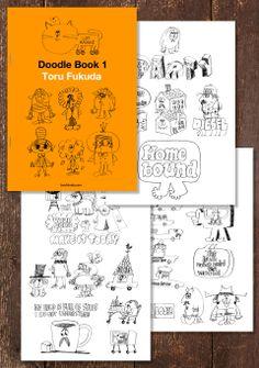 Doodle Book 1 by Toru Fukudacakesの話題の新サービス「note」にて落書き集「Doodle Book 1」を100円で発売中!「note」はWeb上の有料コンテンツ・サービスの真打ちになるかも。盛り上がりに期待して、いろいろ実験的に利用するつもりで...
