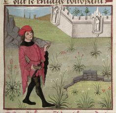 [folio 002r] MS. Douce 195 (Le roman de la rose) Robinet Testard  http://romandelarose.org/#browse;Douce195