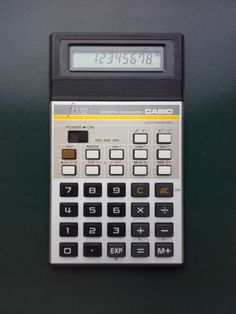 Vintage Casio FX-210 Scientific Electronic Calculator Made in Japan Working Rare - http://electronics.goshoppins.com/vintage-electronics/vintage-casio-fx-210-scientific-electronic-calculator-made-in-japan-working-rare/