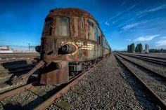 Tren abandonado Orient Express | Funotic.com