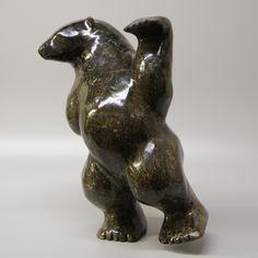 Nuna Parr - Dancing Bear 17.5 x 12 x 8 Price $8850 Cdn (3)