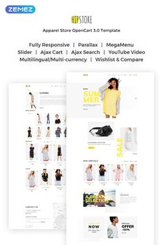 #Shopping Super Market - Responsive #OpenCart #Template #Save 15% OFF on this product Hurry up! It's a limited time proposition.  #onlinestore #clothes #website #webtemplate #HTMLplusJS #Parallax