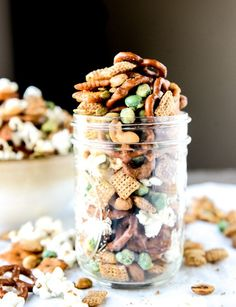 The Most Addicting Homemade Snack Mix I howsweeteats.com