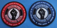 NORTHERN SOUL PATCH - THE SPIRIT IS IN YOUR SOUL - BLUE OR RED | eBay Soul Patch, Your Soul, Northern Soul, Patches, Spirit, Red, Blue, Ebay