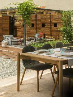 Duplex El Farro – The Design Stash Outdoor Furniture Sets, Outdoor Decor, Plantar, Backyard, Studio, Table, Room, Design, Home Decor