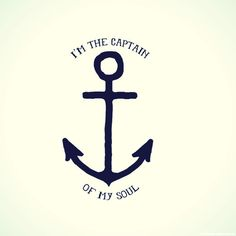 I just like the anchor