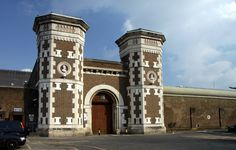 Prison imam 'caught taking drugs worth into jail' Witness For The Prosecution, The Italian Job, Entrance Gates, Abandoned Places, Prison, Big Ben, Scrubs, Facade