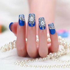Resultado de imagem para nail decoration rhinestones