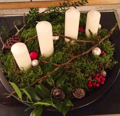Christmas advent decoration