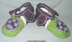 Please note that this pattern includes all 6 Paw Patrol Slipper designs. You need to know the Front and Back post double crochet for these slippers, they are quite easy to make and involve some sewing. Knitting For Kids, Crochet For Kids, Back Post Double Crochet, Kids Slippers, Quick Crochet, Paw Patrol, Knit Patterns, Baby Shoes, Sewing