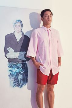 """Into Love""   Lasala Spring/Summer 2015  Model Miguel Lasala Photography Kristin Cornejo HMUA Julio Jeremias InglotPh Styling Altaire Bautista"