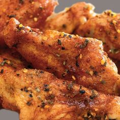 Honey Chicken wings with Garlic and Herb.. i dont use the brand spicies... just my one...
