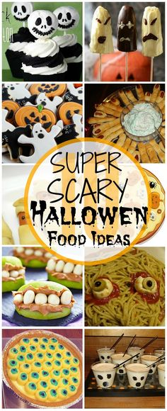 10 Scary Halloween Food Ideas Your Kids Will Love: Well, a Halloween themed party doesn't mean you only have to focus on the dress and decorations, your food will need to be spooky too.Check out some cool Halloween food for kids party that you can prepare easily at home.