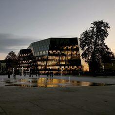 Freiburg, Uni Bib University, Building, Freiburg, Students, Architecture, Buildings, Community College, Construction, Colleges