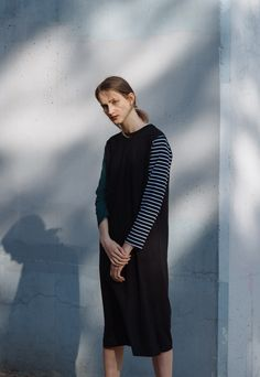 Shop full colelction of Dresses, tops, knits, shoes and more. Winter 2017, Normcore, High Neck Dress, Shopping, Collection, Tops, Dresses, Style, Fashion