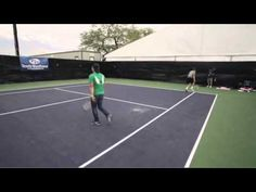 2 tennis fans live out their pro tennis fantasies with Mirnyi & Lindstedt