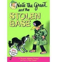Nate the Great and the Stolen Base (#14) by Marjorie Weinman Sharmat, illustrated by Marc Simont