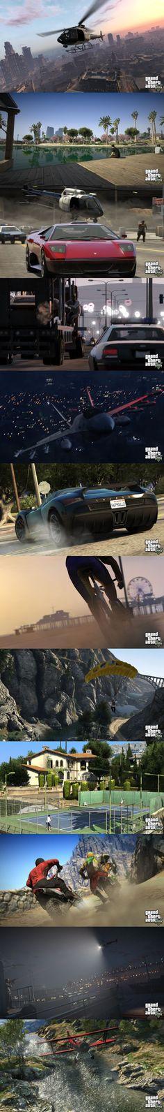 GTA V Screenshots