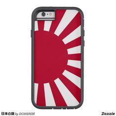 日本の旗 iPhone 6 タフ・エクストリームケース