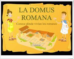 """""""La domus romana"""" (Historia de Educación Primaria)"""