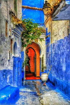 Photo Chefchaouen city in HDR mode by Mohamed Ali Lyamani on Blue City, Morocco Travel, Beautiful Places To Travel, Marrakesh, Moorish, Travel Aesthetic, Dream Vacations, Casablanca, Ancient Architecture