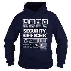 SECURITY OFFICER T-Shirts, Hoodies. BUY IT NOW ==► Funny Tee Shirts