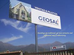 Hoardings are traditional, yet most attractive and influential way of advertising.  http://hoardingindia.in/