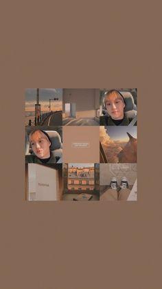 Brown Aesthetic, Aesthetic Images, Bts Aesthetic Wallpaper For Phone, Aesthetic Wallpapers, Polaroid Frame, Exo Lockscreen, Kpop Exo, Exo Kai, Light Of My Life