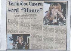 """Verónica Castro será """"Mame"""" - Comunidad de Verónica Castro #VeronicaCastroEsMame #MameMexico"""