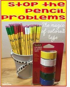 Time 4 Kindergarten: A Solution for the Pencil Problems