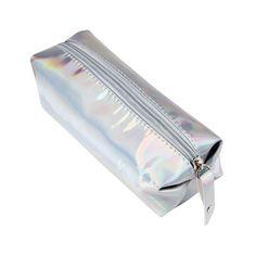 Makeup Bag Fashion Comestic Bags Hologram Pencil Case Holder Travel Small Capacity Boxes Zipper Toiletry bag