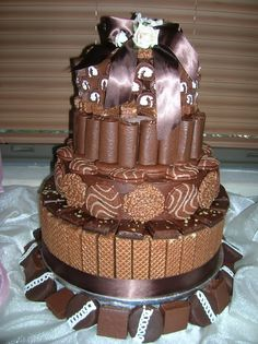 I Would Not Make It As A Tower CakeId Just Do One Tier But Use The Same Yum Yums