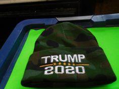 8ce47203b19 donald trump 20 20 camo knit hat 10.00 free shipping