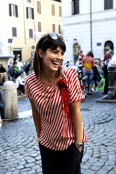 Alessandra Mastronardi; Italian Street Style
