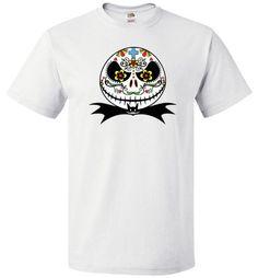 Jack Sugar Skull Short Sleeve Unisex Shirt